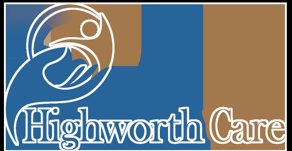 Highworth Logo web white